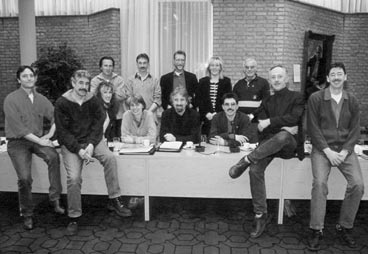 De SP-fractie in 1998.