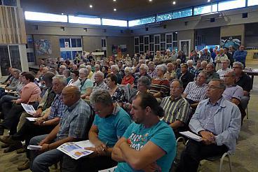 De avond werd goed bezocht door ruim 150 mensen.