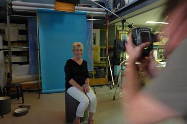 Alle 50 SP-kandidaten worden deze week op de foto gezet in een fotostudio in Oss